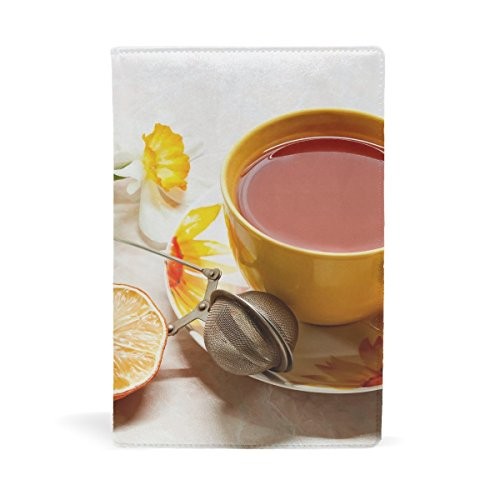 up Mesh Tea Saucer Leather Stretchable Book Covers Durable And Reusable For Nylon Fabric Hard Cover Schoolbooks Notebooks Textbooks Men Women ( 9x11 Inch) ()