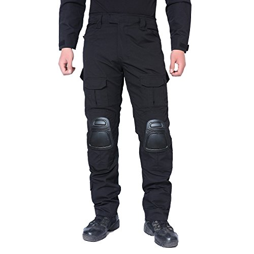 MAGCOMSEN Army Pants SWAT Uniform for Men Military BDU Combat Tactical with Knee Pads ()