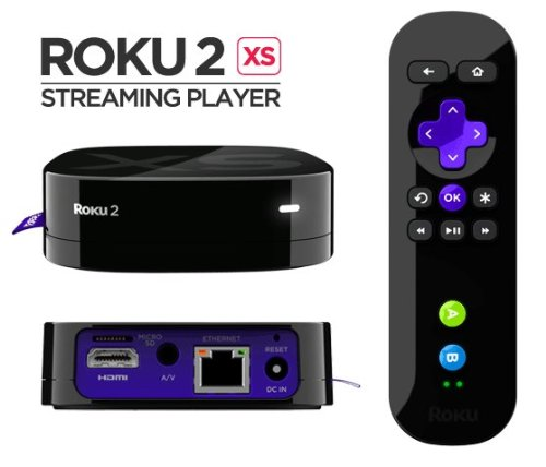Roku2 XS Premium Bundle Wireless Streaming Player w/2 game remote & motion controllers (Roku Xd Player)