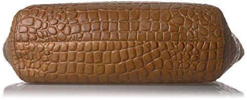 Liebeskind Berlin Damen Soho Croco Schultertasche, 14x34x56 cm sioux beige