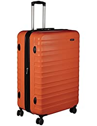 AmazonBasics Hardside Spinner Luggage - 28-inch, Burnt Orange