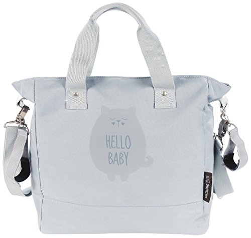 Walking Mum Hello Baby - Bolsa silla de paseo, color gris