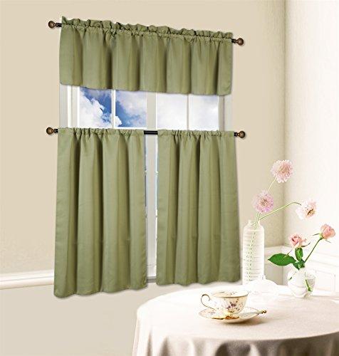 Kashi Home Blackout Kitchen Curtain product image