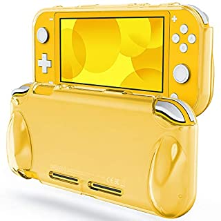 JETech Protective Case for Nintendo Switch Lite 2019, Grip Cover with Shock-Absorption and Anti-Scratch Design, Yellow