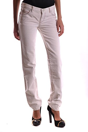 Jeans MCBI206006O Mcq Coton Mcqueen Blanc Femme Alexander nzzSYRqwg