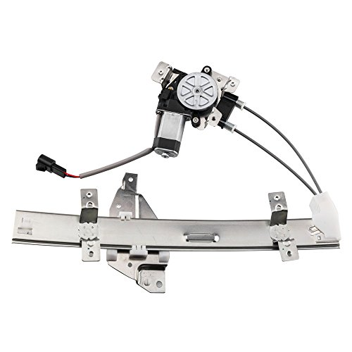 Passenger Rear Power Window Lift Regulator with Motor Assembly Replacement for Pontiac Grand Prix 1997 1998 1999 2000 2001 2002 2003 ()