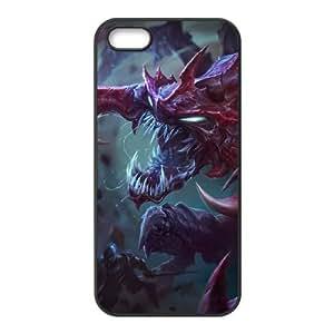 iPhone 4 4s Phone Case Cover Black League of Legends Chogath EUA15992693 Phone Case Back Unique