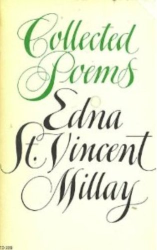 an analysis of edna st vincent millays poetry 1-16 of 126 results for edna st vincent millay poems millay: poems (everyman's library pocket poets)  edna st vincent millays: poems selected for young people.