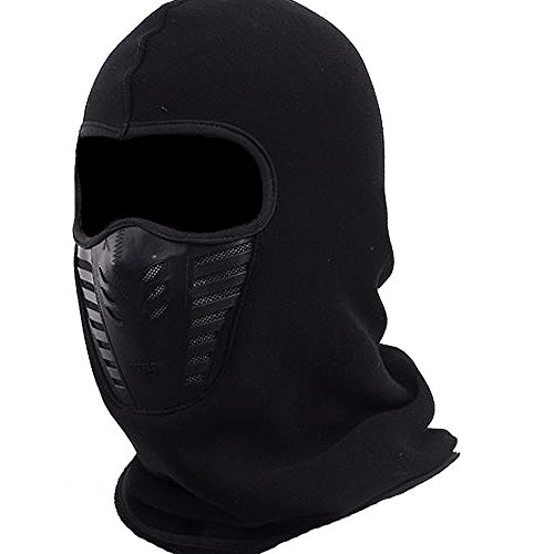 Mens Balaclava Face Mask, Fleece Hood Windproof Breathable Hat for Winter Ski, Hunting, Motocycle, Cycling