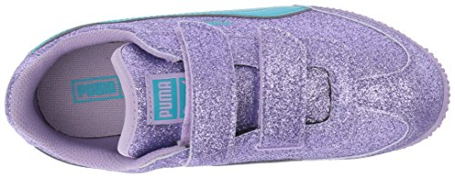 US 6 PUMA Toddler Glitz Whirlwind Girls Kids Atoll Blue Rose M Sneaker Purple V ZZv7O6