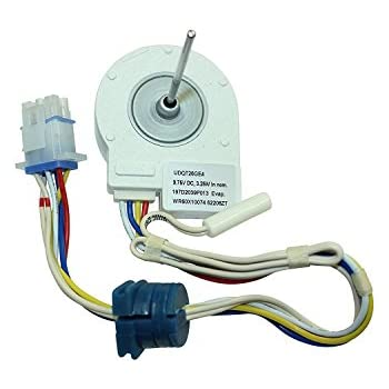 New part one free authors book check in description + WR60X10068 EVAPORATOR FAN MOTOR FITS GE GENERAL ELECTRIC HOTPOINT REFRIGERATOR//firs for many models