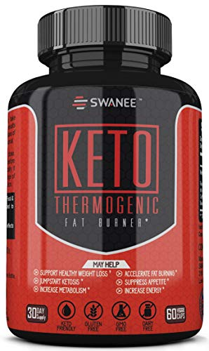Fat Burner Keto Diet Pills. Thermogenic Fat Burner Weight Loss Supplement for Men and Women. Formulated to Burn Fat for Fuel, Suppress Appetite, Increase Metabolism, Jumpstart Ketosis. 30 Day Supply