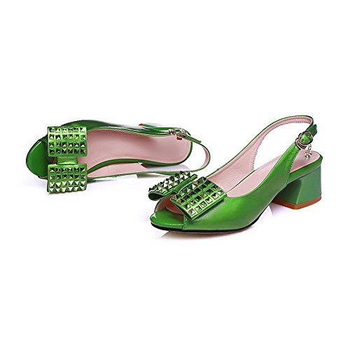 Green Donna Ballerine Verde AdeeSu 35 p7Hxq