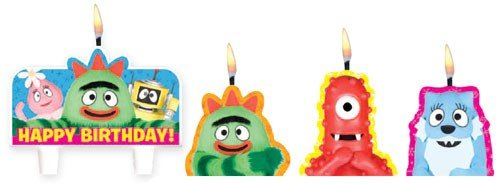 Yo Gabba Cake Candles, Health Care Stuffs
