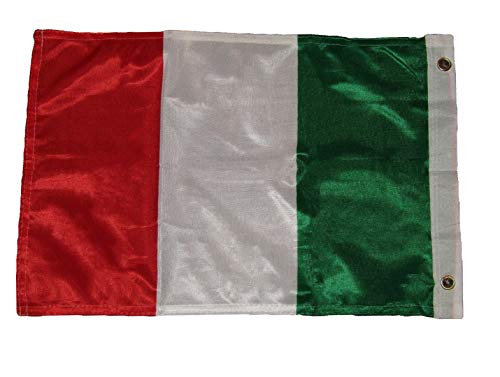 Hebel 12x18 12x18 Italy Italian Rough Tex Knitted Flag Banner Grommet | Model FLG - 1072