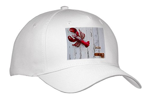 Danita Delimont - Objects - USA, Maine, Freeport, lobster pound, lobster toys - Caps - Adult Baseball Cap - Usa Freeport Maine