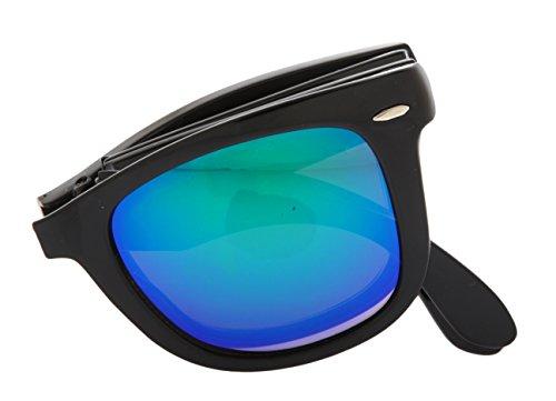 Lunettes BK Pliante 2238RF de Unisexe noir DZ2039S Madre 69 GN Puta turquoise lunettes Adultes De soleil wAqRH6