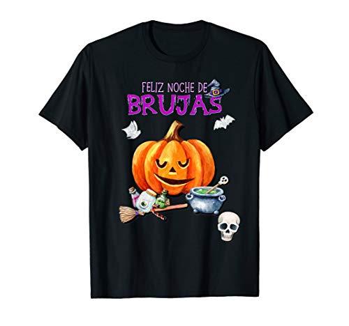 Feliz Halloween Para Hombres (Camiseta Feliz Noche de Brujas para Ninos Hombres y Mujes)