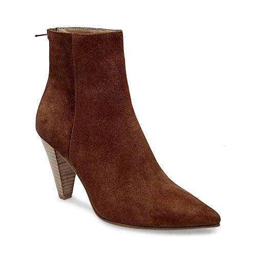 Us 0 Virtue Bootie 9 Madden Suede Steve Dress Women's Chestnut Xxznw48H
