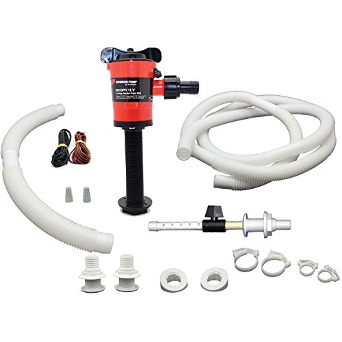 Johnson Pump 34014 Livewell Aerator Kit-500 GPH - Pump 500 Gph Aerator