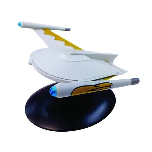 - Star Trek Starships Romulan 23rd C Bird of Prey Die-Cast Metal Vehicle with Collector Magazine