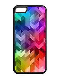 Unique Design Customized 3d Iphone 5c 5th TPU Phone Case Black (Case09)