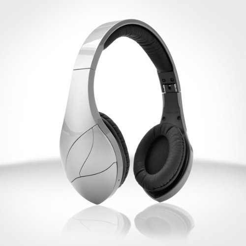 Velodyne vFree Bluetooth Headphones (Satin Silver)...