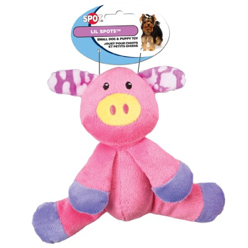 Ethical Pet Lil Spots Plush Floppy Toys for Small Dogs and P