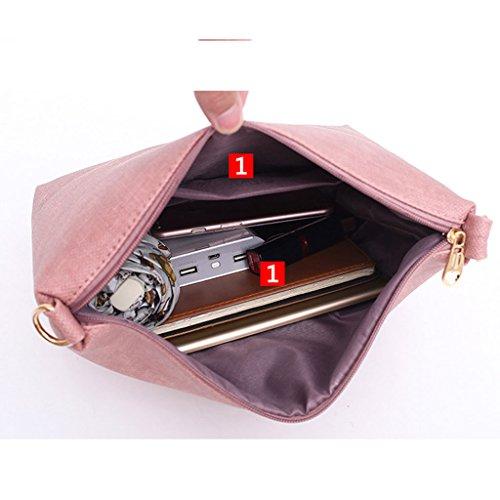 Simple De 3 Cuero Red Hombro Gran Capacidad Piezas Bolso Para Mujer 7g0xdqUw8