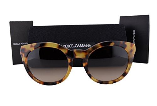 Dolce & Gabbana DG4279 Sunglasses Cube Havana w/Brown Gradient Lens 51213 DG 4279 For - Clearance Dolce Gabbana And