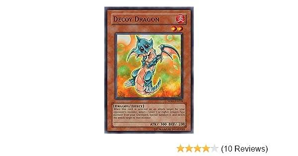 SDRL-EN004 -  Common First ed Decoy Dragon Yugioh