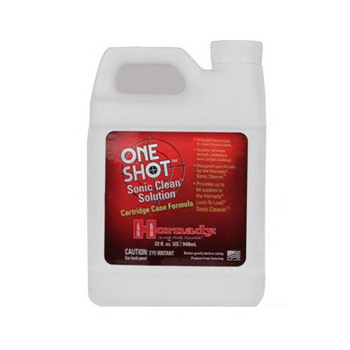 Brass Gun Case - Hornady 043355Lock-N-Load Sonic Gun Brass Cleaner Solution, Quart