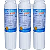 Icepure RWF0900A 3PACK Refrigerator Water Filter Compatible With Maytag UKF8001,WHIRLPOOL 4396395,EveryDrop EDR4RXD1,Filter 4