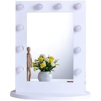 lighting mirror. chende white hollywood makeup vanity mirror with light tabletops lighted dimmer led illuminated lighting