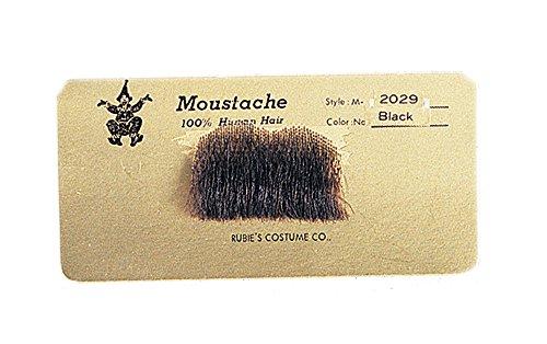 Charlie Chaplin Costumes Accessories - 2029 Black Charlie Chaplin Mustache Includes
