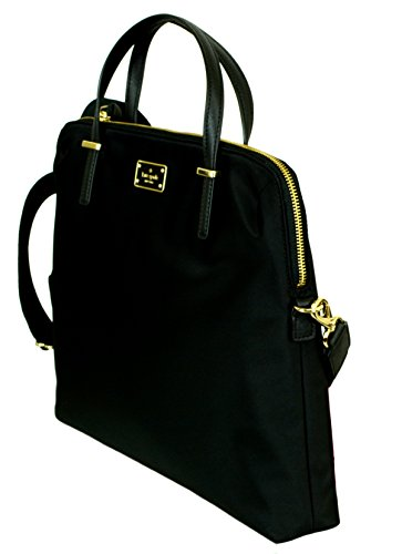 Kate Spade New York Daveney Wilson Road Laptop Shoulder Bag (Black)