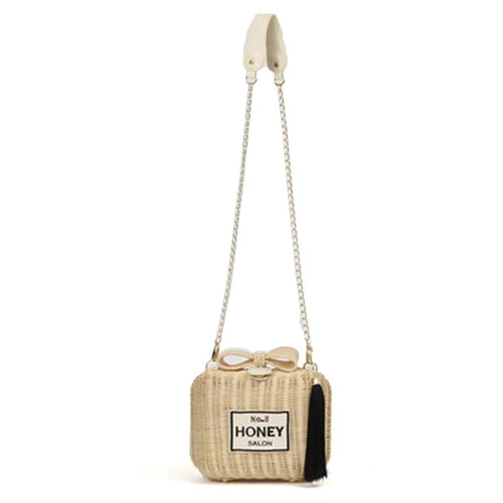 ハニーサロン(honey salon) バッグ パフュームラタンショルダー FHB-1235 fhb1235 レディースバッグ 鞄 Free 070)アイボリー B07GMMYJB3