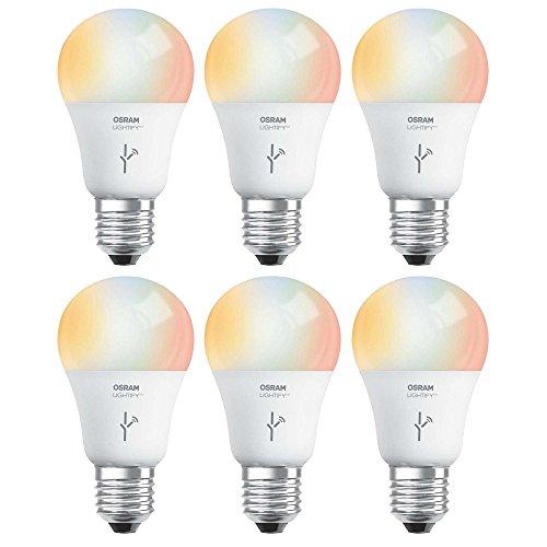 Sylvania Osram Lightify 60W A19 Daylight/ RGB Smart LED L...