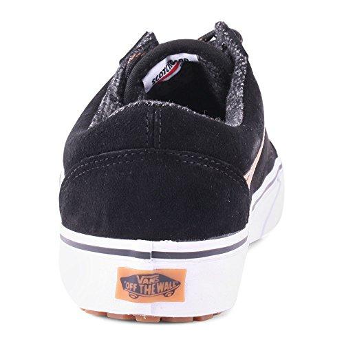 Vans U Old Skool - Zapatillas de Deporte de canvas Unisex Black Brown