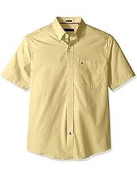 Tommy Hilfiger Men's Short Sleeve Regular Fit Solid...
