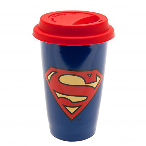 (Official Licensed Superman - Ceramic Travel Mug)