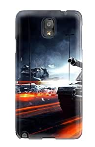 CaseyKBrown Design High Quality Battlefield 3 Tanks Cover Case With Excellent Style For Galaxy Note 3