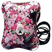 DAZIBAO® Electric Rechargeable heating bag with gel for pain relief/Heating gel pad/warm bag/Heat pouch hot water bottle bag with Auto Power Cut (Multi Colour, Multi Design)
