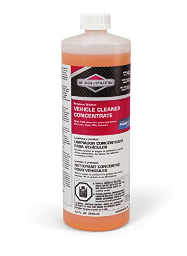 Briggs & Stratton Power Products 6830 Vehicle Cleaner Pressure Washer Concentrate, 32 oz by Briggs & Stratton