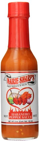 Marie Sharps Hot Sauce (Marie Sharp's Hot Habanero Pepper Sauce, 5 Ounce)