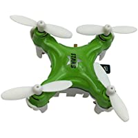 YouCute TINY! Cx Stars Worlds Smallest Drone Nano Drone RC Quadcopter mini quadcopter drone 2.4G 6 Axis Gyro (Green)
