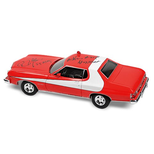 David Soul and Paul Michael Glaser Autographed Starsky & Hutch 1:18 Die Cast Car - Starsky Hutch Signed