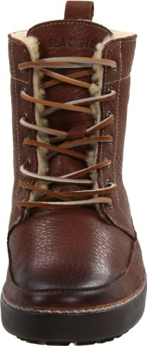 Blackstone Mens Am32 Hi Top Shearling Sneaker Bark