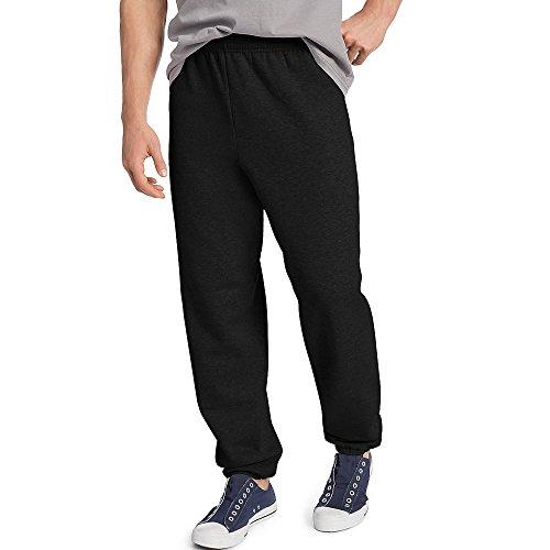 Hanes ComfortBlend EcoSmart Men's Sweatpant_Black_S
