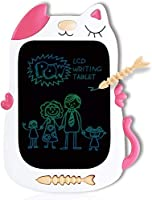 GJZZ LCD Drawing Doodle Board for 3-7 Year Old Girls Gifts,Writing and Learning Scribble Board for Little Kids